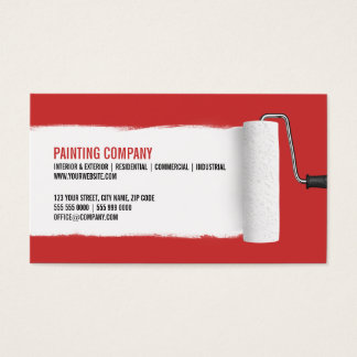 196 painter and decorator business cards and painter and for Painter business card template
