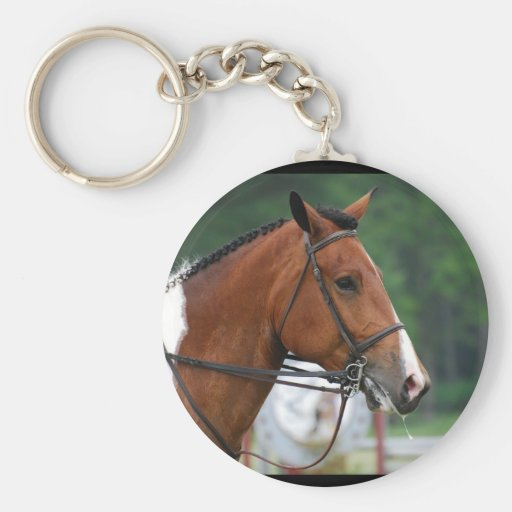 Paint Show Horse Keychain