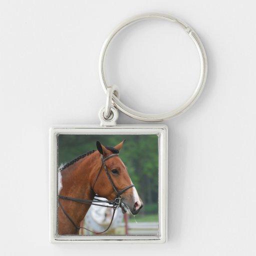 Paint Show Horse Keychains