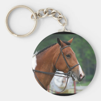 Paint Show Horse Keychain