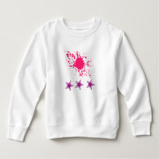 Paint splash and Stars Baby Sweatshirt
