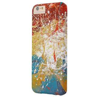 Paint Splash background Barely There iPhone 6 Plus Case
