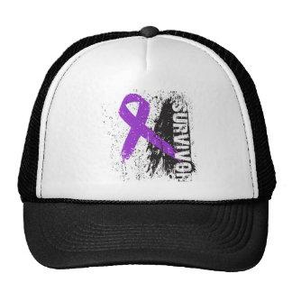 Paint Splash Design - Pancreatic Cancer Survivor Hat