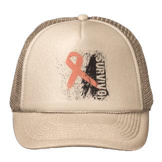 Paint Splash Design - Uterine Cancer Survivor Trucker Hat