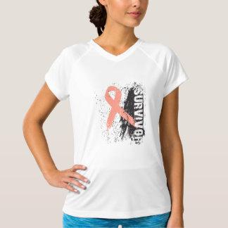 Paint Splash Design - Uterine Cancer Survivor Shirts
