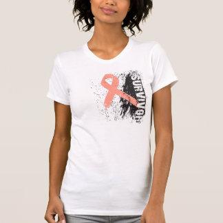 Paint Splash Design - Uterine Cancer Survivor Tank