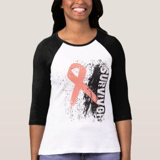 Paint Splash Design - Uterine Cancer Survivor Shirt