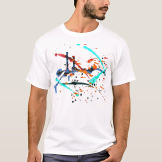paint splash T-Shirt