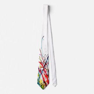 Paint splash tie