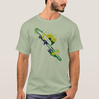 Paint Splat Trombone Shirt