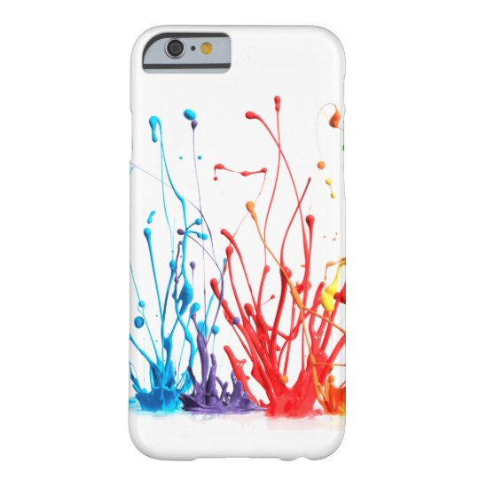 Paint Splatter 3D Barely There iPhone 6 Case