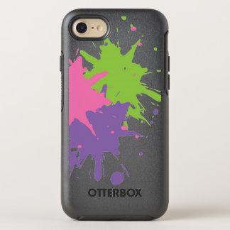Paint Splatter Apple iPhone 6/6s OtterBox OtterBox Symmetry iPhone 7 Case
