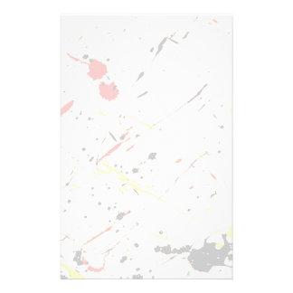 Paint Splatter Background 1 Stationery