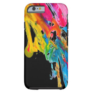 paint splatter color colors class brush stroke pap tough iPhone 6 case