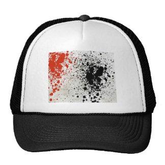 Paint Splatter design Hats