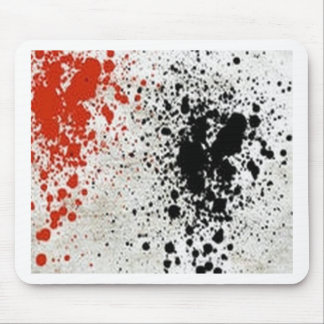 Paint Splatter design Mousepads
