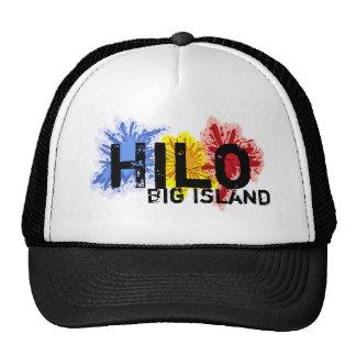 Paint splatter Hilo hawaii big island hat
