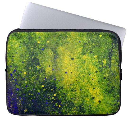 Paint Splatter Laptop Sleeve