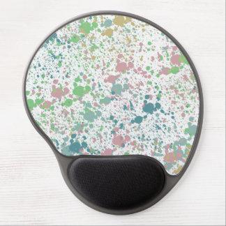 Paint Splatter Mix Gel Mouse Pad