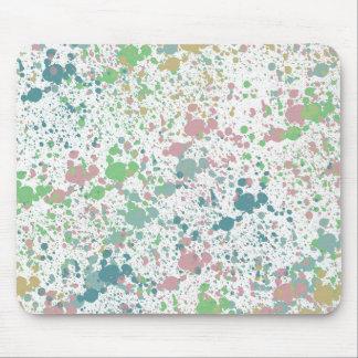 Paint Splatter Mix Mouse Pad