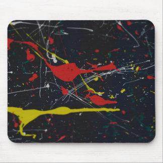 Paint Splatter Mouse Mat