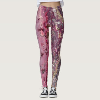 Paint Splatter Stone Leggings