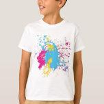 paint splatter tshirt