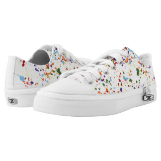 """""""Paint Splatter"""" ZIPZ® Sneakers"""