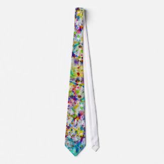 Paint Splattered Tie