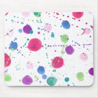 Paint Splatters Mousepads