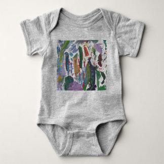 Paint Splotches Baby jumpsuit