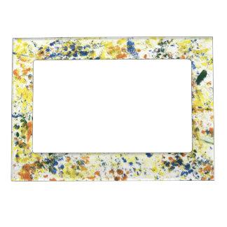 Paint Spots Magnetic Frame