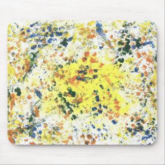Paint Spots Mouse Pad