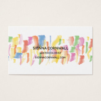 Paint Stained Business Card