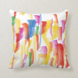 Paint Stained Pillow