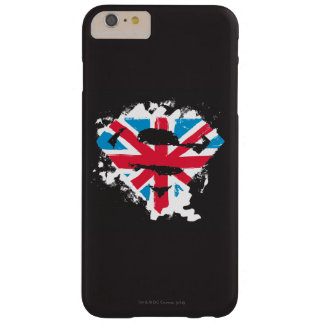 Paint Strokes British S-Shield Barely There iPhone 6 Plus Case