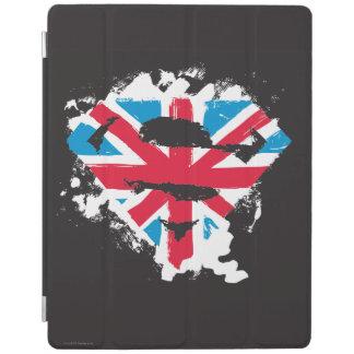 Paint Strokes British S-Shield iPad Cover