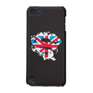 Paint Strokes British S-Shield iPod Touch (5th Generation) Case