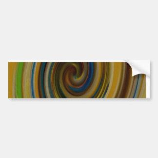 paint swirl bumper sticker