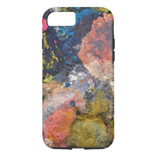 Paint swirl iPhone case