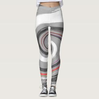 paint swirl leggings