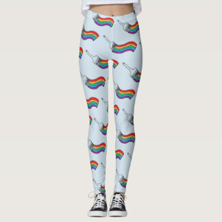 Paint The Rainbow LGBT Pride Leggings