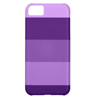 Paint violet purple stripes 3 iPhone 5C case