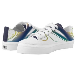 Paint with All the Colors Low Top Shoes Printed Shoes