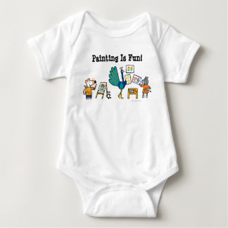 Paint with Maisy! Baby Bodysuit