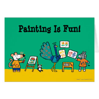 Paint with Maisy! Card