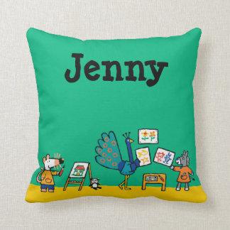 Paint with Maisy! Cushion