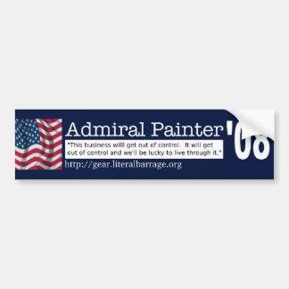 Paint your bumper with Painter Car Bumper Sticker