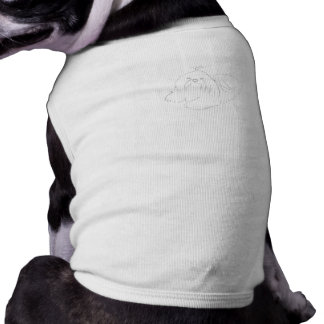 Paint Your Own Shih Tzu Clothing Doggie Tee