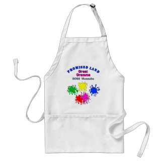 Paintball Aprons with Paintball Splatters